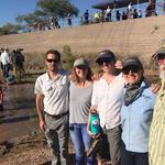 From left to right; WMG's Sky Jacobs, Lauren Monheim, Nicole Casebeer, Deborah Oslik and Trevor Hare.