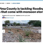 Pima County & WMG are tackling flooding issues that come with monsoon storms.