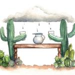 Rain to Table. Illustration by Adela Antoinette