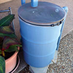 You don't have to spend big bucks to collect rainwater.