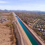 Central Arizona Project Canal, Phoenix, AZ Getty
