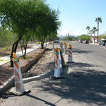 Green Streets road reconstruction in process