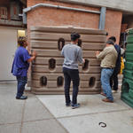 City High School cistern install project