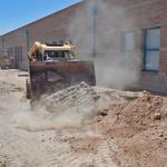 Drachman School water harvesting project