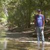 River Restoration Biologist Trevor Hare.