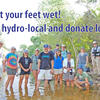 Get your feet wet! Be hydro-local and donate local!
