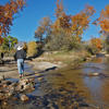 Assessing flow in Sabino creek - Fall 2015