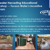 Rainwater Harvesting Rebate - Tucson Water