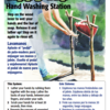 Tippy Tap Handwashing Bilingual Sign cover